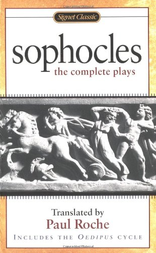 Sophocles The Complete Plays  2001 edition cover