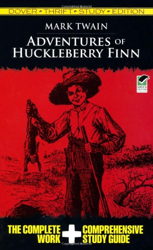 Adventures of Huckleberry Finn Thrift   2009 (Student Manual, Study Guide, etc.) edition cover