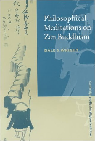 Philosophical Meditations on Zen Buddhism   2000 edition cover