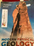 Modern Physical Geology  2nd 1997 9780534422844 Front Cover