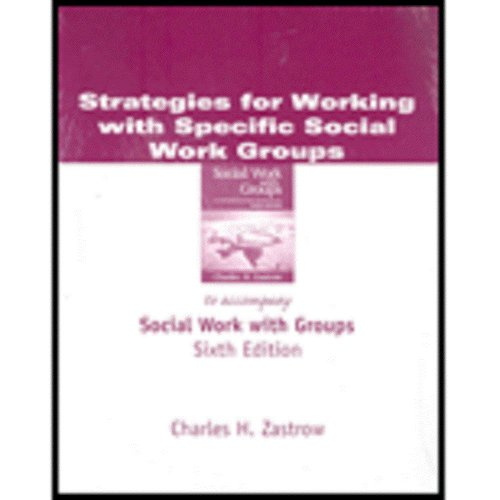 Strategies F/Spec Sw Grps  6th 2006 9780534534844 Front Cover