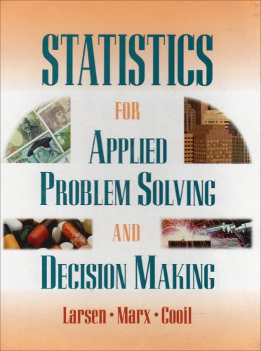 Statistics for Applied Problem Solving and Decision Making  1997 edition cover