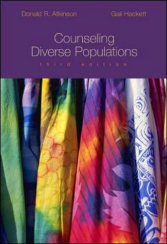 Counseling Diverse Populations  3rd 2004 (Revised) edition cover