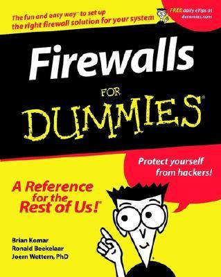 Firewalls for Dummies   2001 9780764508844 Front Cover