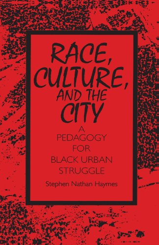 Race, Culture, and the City A Pedagogy for Black Urban Struggle N/A edition cover