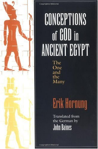 Conceptions of God in Ancient Egypt The One and the Many  1996 edition cover