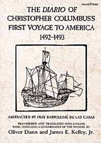 Diario of Christopher Columbus's First Voyage to America, 1492-1493  N/A edition cover