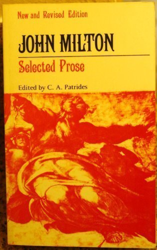 John Milton Selected Prose 2nd 1985 (Revised) edition cover