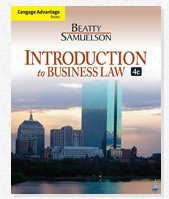 INTRO.TO BUSINESS LAW-W/COURSE N/A 9781133286844 Front Cover