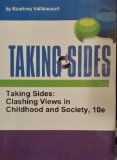Taking Sides: Clashing Views in Childhood and Society  2013 edition cover