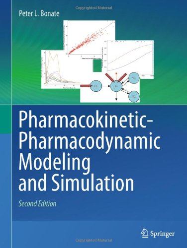 Pharmacokinetic-Pharmacodynamic Modeling and Simulation  2nd 2011 edition cover