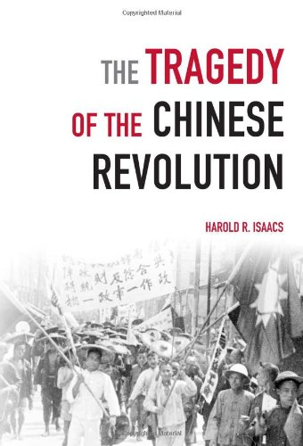 Tragedy of the Chinese Revolution   2009 9781931859844 Front Cover