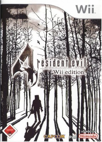 Resident Evil 4: Wii edition Nintendo Wii artwork