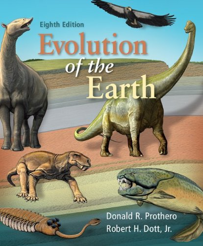 Evolution of the Earth  8th 2010 edition cover