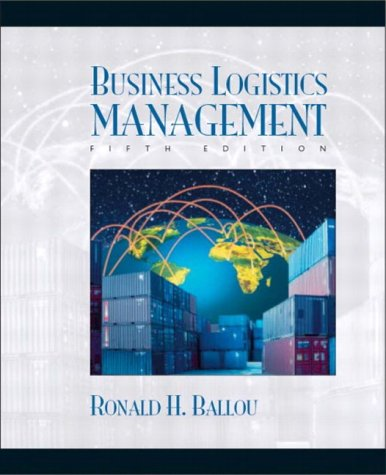 Business Logistics Management  5th 2004 edition cover