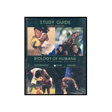 BIOLOGY OF HUMANS-STD.GDE. 1st edition cover