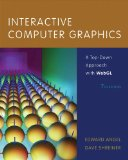 Interactive Computer Graphics A Top-Down Approach with WebGL 7th 2015 edition cover