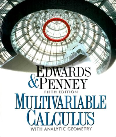 Multivariable Calculus with Analytic Geometry  5th 1998 9780137930845 Front Cover