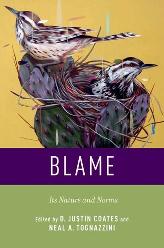 Blame Its Nature and Norms  2013 edition cover