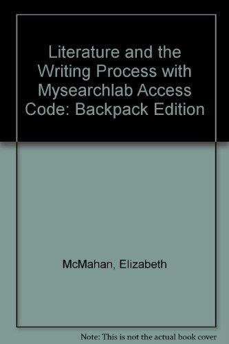 LIT and WRITG PROCESS BACKPK ED&MYSRCHLAB SAC   2011 edition cover