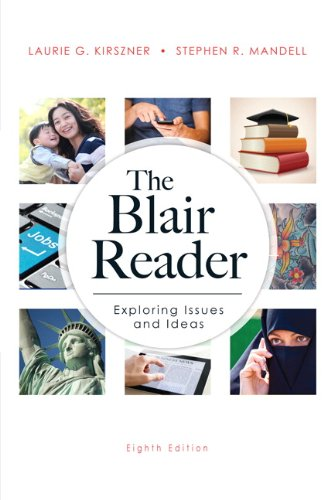 Blair Reader  8th 2014 edition cover
