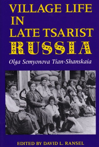 Village Life in Late Tsarist Russia  N/A edition cover