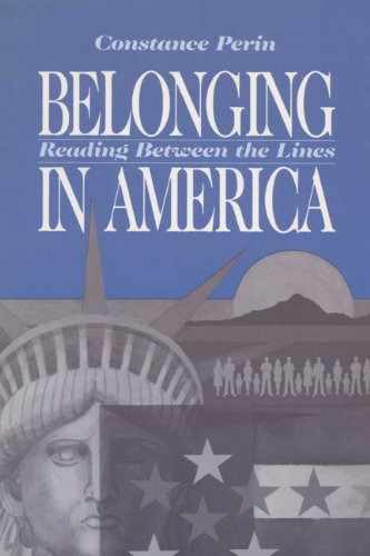 Belonging in America Reading Between the Lines  1988 edition cover