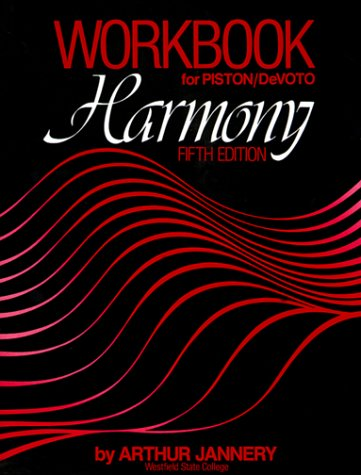 Harmony  5th (Workbook) edition cover