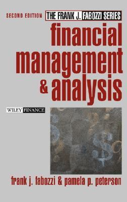 Financial Management and Analysis  2nd 2003 (Revised) edition cover