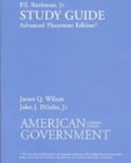 American Government Institutions and Policies 11th 2008 (Student Manual, Study Guide, etc.) 9780618956845 Front Cover