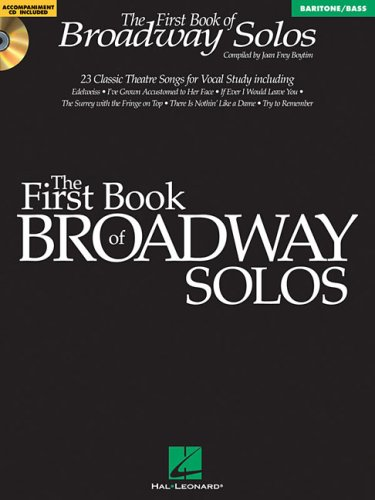First Book of Broadway Solos  N/A edition cover