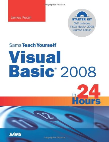 Visual Basic 2008 in 24 Hours Complete Starter Kit  2008 edition cover