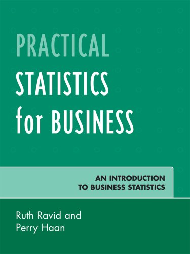 Practical Statistics for Business An Introduction to Business Statistics N/A edition cover