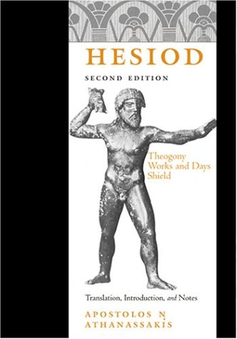 Hesiod Theogony, Works and Days, Shield 2nd 2004 edition cover
