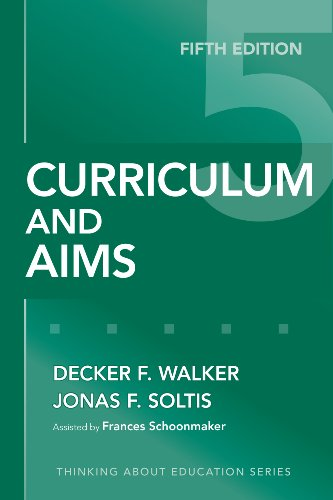 Curriculum and Aims  5th 2009 edition cover
