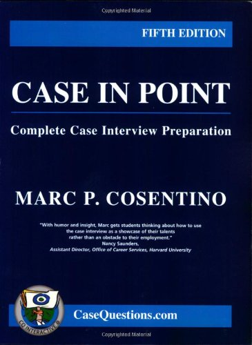 CASE IN POINT 5th 2007 edition cover