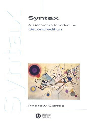 Syntax A Generative Introduction 2nd 2006 (Revised) edition cover