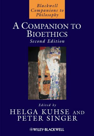 Companion to Bioethics  2nd 2012 edition cover
