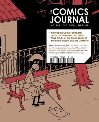 Comics Journal  N/A 9781560979845 Front Cover