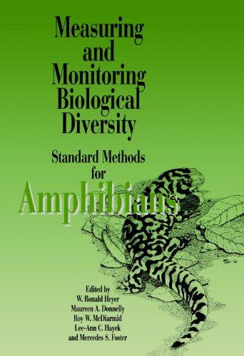 Measuring and Monitoring Biological Diversity Standard Methods for Amphibians  1994 9781560982845 Front Cover
