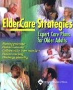 ElderCare Strategies Expert Care Plans for Older Adults  2003 edition cover