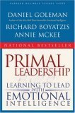 Primal Leadership Learning to Lead with Emotional Intelligence  2004 (Reprint) edition cover