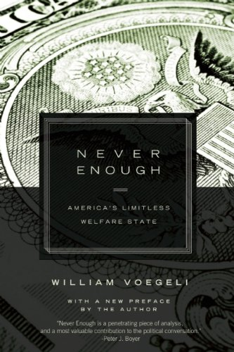 Never Enough America's Limitless Welfare State N/A edition cover