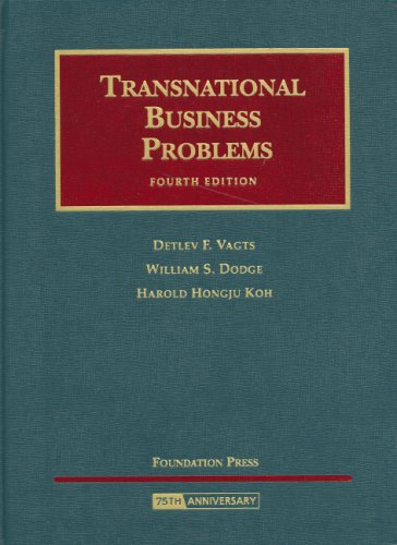 Transnational Business Problems  4th 2008 (Revised) edition cover