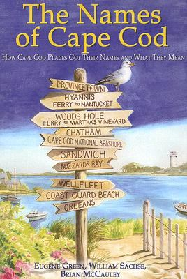 Names of Cape Cod  N/A 9781933212845 Front Cover