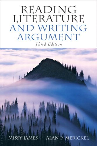Reading Literature and Writing Argument  3rd 2008 edition cover