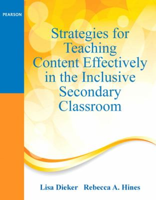 Strategies for Teaching Content Effectively in the Inclusive Secondary Classroom   2014 edition cover