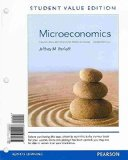 Microeconomics Theory and Applications with Calculus, Student Value Edition Plus NEW Myeconlab with Pearson EText -- Access Card Package 3rd 2014 edition cover