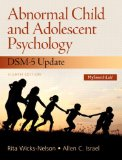 Abnormal Child and Adolescent Psychology with DSM-V Updates Plus NEW MySearchLab with Pearson EText -- Access Card Package  8th 2015 edition cover