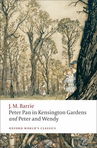 Peter Pan in Kensington Gardens and Peter and Wendy   2008 edition cover